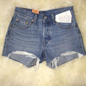 Levi's 501 Shorts new with tags